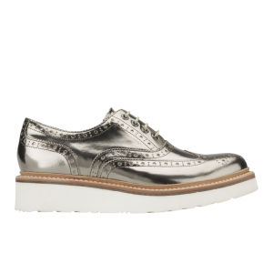 Grenson Women's Emily Metallic Brogues - Bronze
