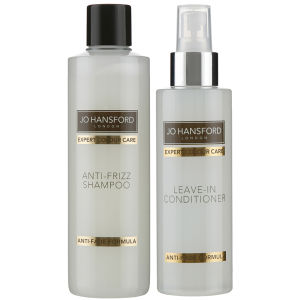 Jo Hansford Expert Colour Care Anti Frizz Shampoo (250 ml) med Protect and Shine Leave In Conditioner (150 ml)