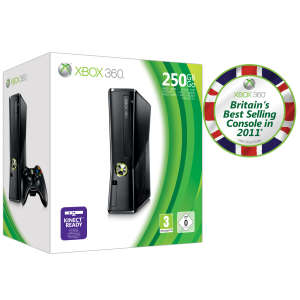 Xbox 360 Console with 250GB HDD