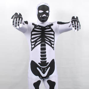Morphsuits Skeleton White