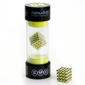 Nanodots Magnetic Constructors Gold - 64 Dots