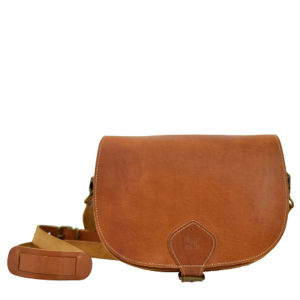 Grafea Sienna Saddle Bag - Caramel