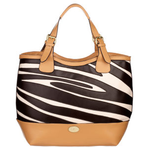 Fiorelli Wild Thing Small Zip Top Grab/Cross Bosy Bag - Zebra Mix