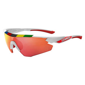 Salice 012 CDM Sport Sunglasses - White/Red