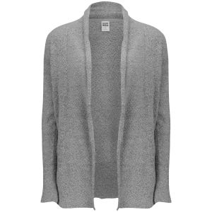 Vero Moda Women's Long Sleeve Open Cardigan - Light Grey Melagne