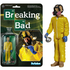 ReAction Breaking Bad Walter White Cook 3 3/4 Inch Action Figure