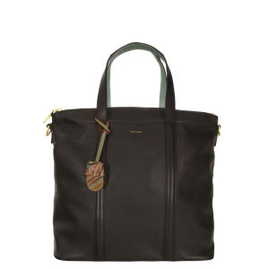 Paul Smith Accessories Women's 4133-L521 Zip Top Tote Bag - Black