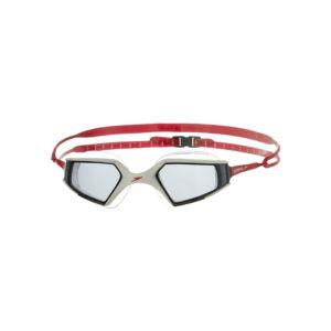 Speedo Aquapulse Max Goggles - White/Smoke/Red
