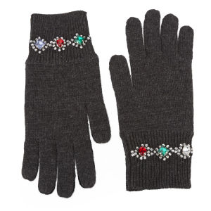 Markus Lupfer Jewel Bracelet Gloves - Charcoal