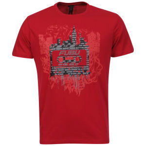 FUBU Men's Cassette T-shirt - Red