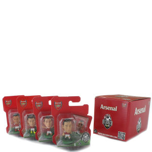 Arsenal FC 4x Blister Pack Box Set (B)