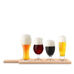 Beer Paddle Tasting Gift Set - 6 Pack