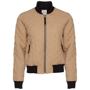 Wood Wood Hazel Bomber Jacket - Sand/Black