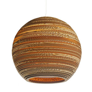 Graypants Moon Pendant Lamp - 18 Inch