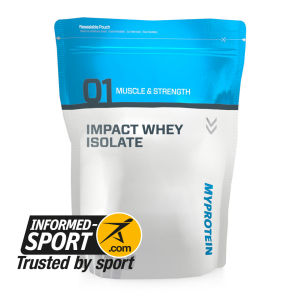 Impact Whey Isolate - Gama Informed-Sport