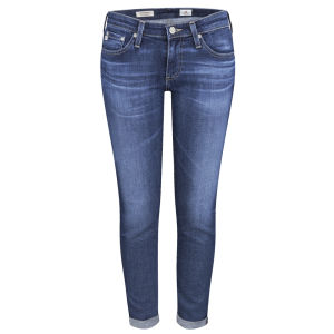 AG Jeans Women's Low Rise Stilt Roll Up Jeans - 11 Years Journey