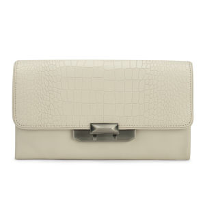 Rebecca Minkoff Women's Oversized Leo Clutch Bag - Ivory
