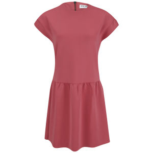 Vero Moda Women's Boboline Scuba Mini Dress - Pink
