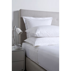 Christy 250 Egyptian Cotton Oxford Square Pillowcase - Cream