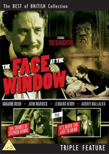 A Face At The Window/Crimes Of Steven Hawk/Its Never Too..