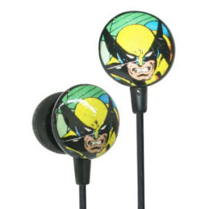 iHip Marvel Retro Earphones - Wolverine
