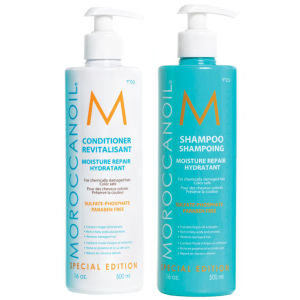 Moroccanoil Moisture Repair Shampoo and Conditioner Duo (500ml)