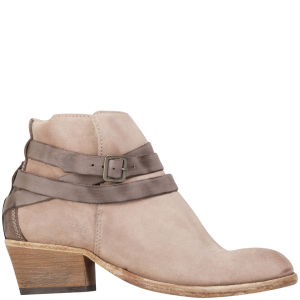 H by Hudson Women's Horrigan Suede Ankle Boots - Blush