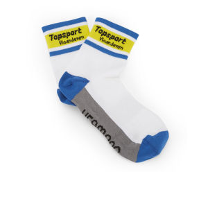 Topsport Vlaanderen Baloise Team Replica Socks - White/Blue