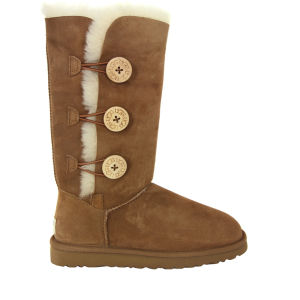 UGG Australia Women's Bailey Button Triplet Boots - Chestnut