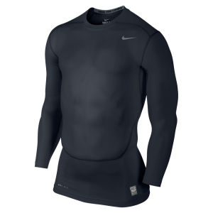 Nike Men's Core Compression Long Sleeve Top 2.0 - Dark Obsidian