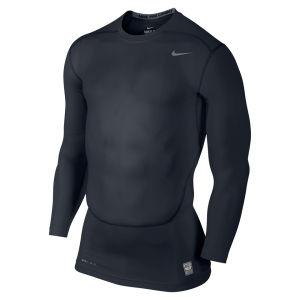 Nike Men's Core Compression Long Sleeve Top 2.0 - Dark Obsidian