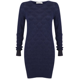Sessun Women's Plex Jumper - Night Blue