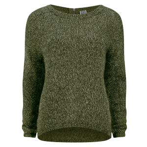 Vero Moda Women's Tango Zip Jumper - Green