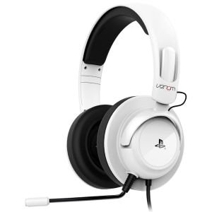 Vibration Stereo Gaming Headset for PS4 & PS3 - White