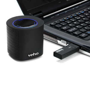 Veho Mimi 2.4 GHz Wireless Speaker System including Transmitting Dongle