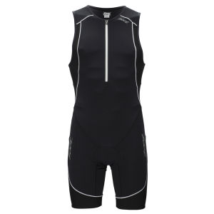 Zoot Men's Ultra Tri Race Suit - Black/Black/White