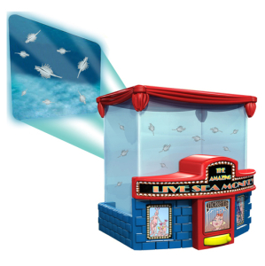 GR8 Art Sea Monkeys Theatre Projector Playset