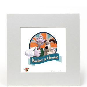 Wallace and Gromit Fine Art Print - Wallace and Gromit