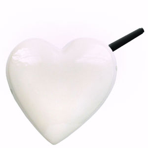Ceramic Heart Note Pad