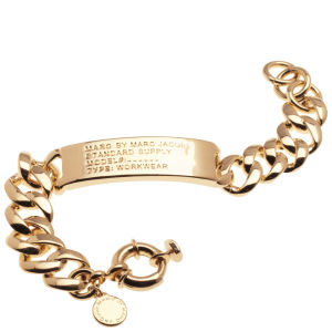 Marc by Marc Jacobs Standard Supply ID Bracelet - Rose Gold
