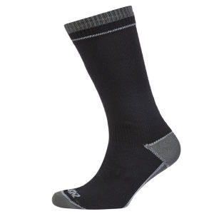 SealSkinz Thin Mid Length Socks - Black