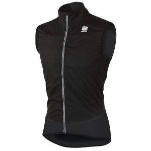 Sportful Men's Ultra Light Wind Stopper Vest - Black