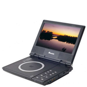 Mustek MVP850E 8.5 Inch Portable DVD Player (Black) - Grade A Refurb