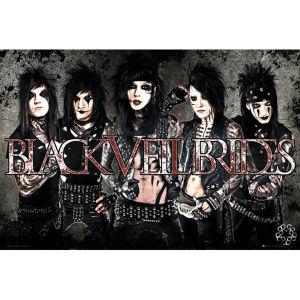 Black Veil Brides Leather - Maxi Poster - 61 x 91.5cm
