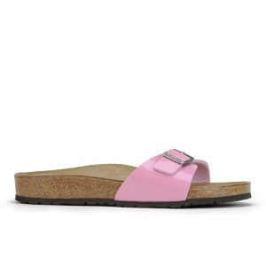 Birkenstock Women's Madrid Single Strap Patent Sandals - Cashmere Rose