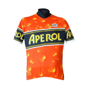 Pella Aperol Short Sleeve Jersey - Orange