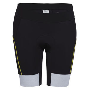 Zoot Ultra Tri 9 Inch Shorts - Black/Yellow