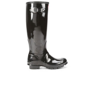 Hunter Women's Original Gloss Wellies - Black