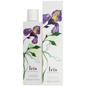 Crabtree & Evelyn Iris Bath & Shower Gel (250ml)