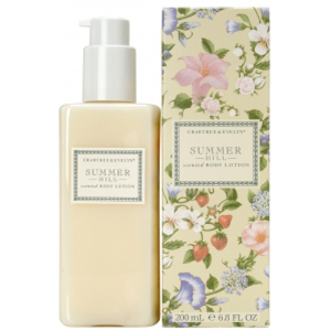 CRABTREE & EVELYN SUMMER HILL SCENTED BODY LOTION (200ML)
